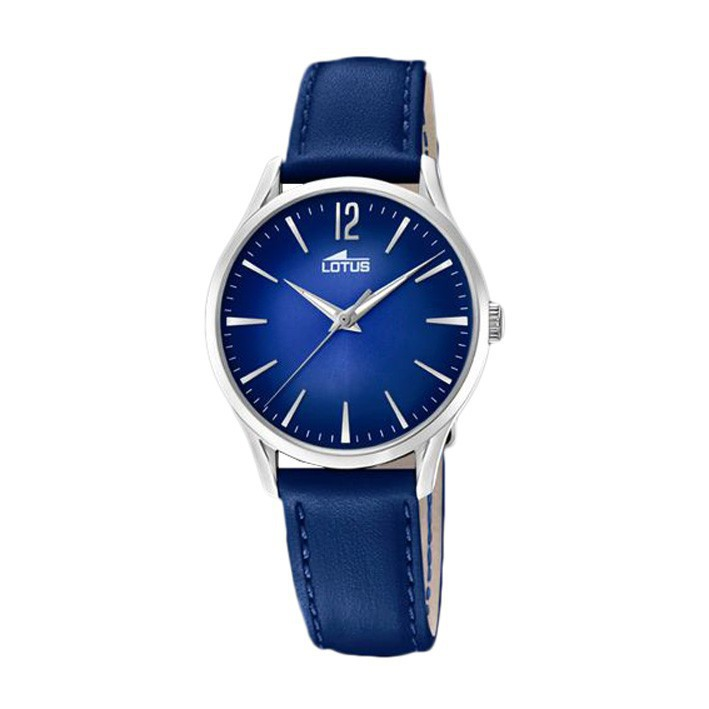 1ca8e767708b Reloj Lotus Revival 18406 5 caja acero inoxidable correa piel azul