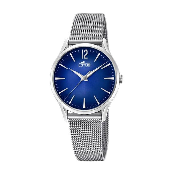 684b7da1893b Reloj Revival mujer 18408/3 Lotus brazalete milanesa esfera azul