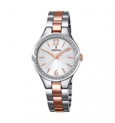 Festina Mademoiselle watch F20247/1 with stainless steel case and silver dial