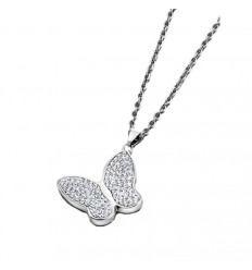 Lotus Style Woman LS1782-1/1 butterfly necklace