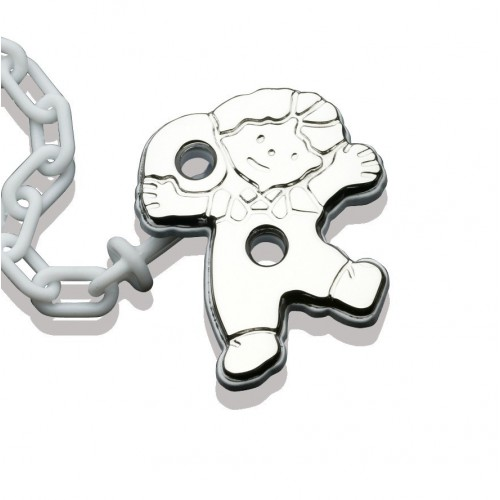 Clip pacifier triplets. 232551