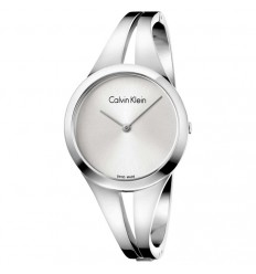 Calvin Klein Addict watch steel and silver color K7W2S116
