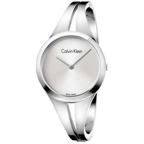 Calvin Klein Addict watch steel and silver color K7W2M116