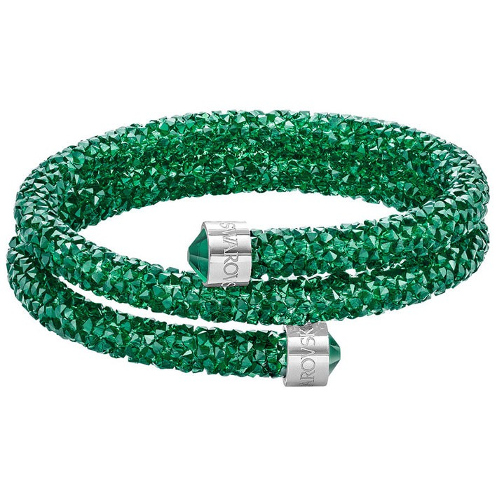 Bracelet Swarovski Crystaldust Double Bright Green 5292450 5273642