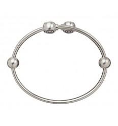Bracelet sterling silver flexible Chamilia 18 cm. BC-2
