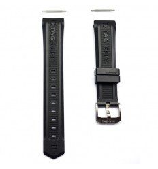 Tag Heuer Aquaracer Man rubber strap with buckle BT0710 / FT8010