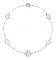 Timeless Swarovski Remix Rhodium Bracelet Blue Stones 5354791