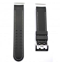 Black rubber strap watch Hamilton Khaki X-Wind auto. H600.776.106