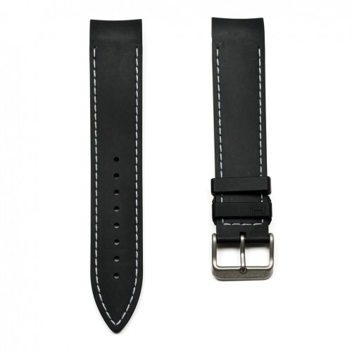 Hamilton Khaki GMT/ETO/Regatta rubber strap H600776100 reference