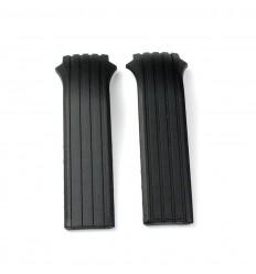 Black rubber strap Lotus Shiny man 15317/15318 22mm