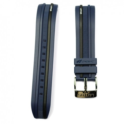 Black rubber strap embossed blue Lotus Marc Marquez models 15881