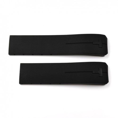 Black Rubber Strap Tissot T-Touch Expert and Touch II. Reference T013420 and T047420. T610026464