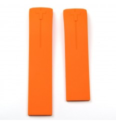 Tissot T-Touch II and T-Touch Expert orange rubber strap T610026463