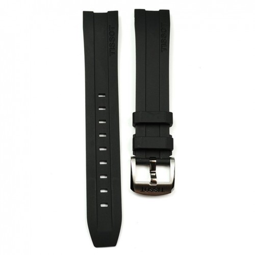 Tissot PRC 200 T055417A black rubber strap T603032879