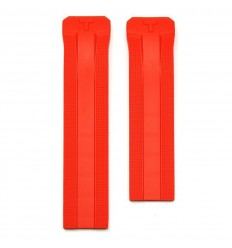 Red silicone strap watch Tissot T-Touch Expert Solar T610036805