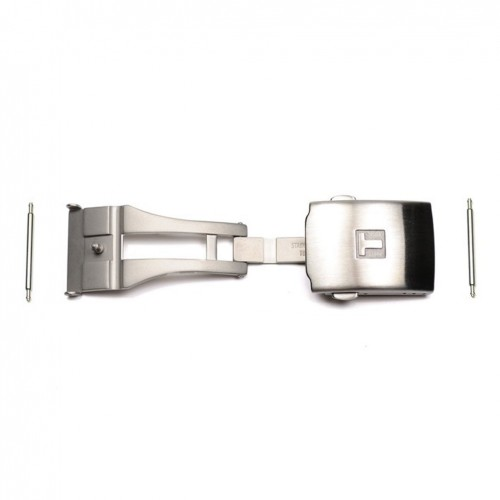 Stainless steel folding clasp straps Tissot T640015934