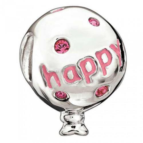 Beading BIRTHDAY BALOON pink pale. 2083-0082