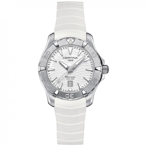 Certina DS Action watch C0322511701100 Chronometer White dial