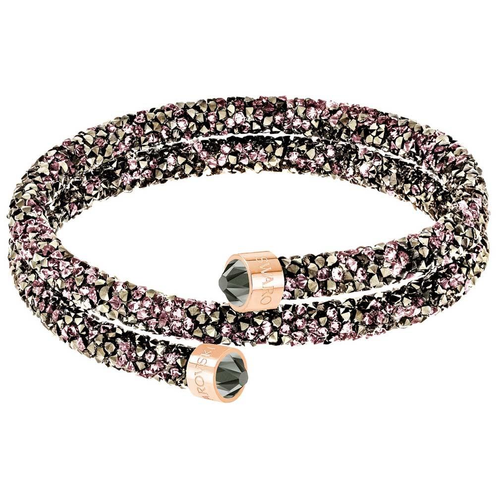 773f6b03064c Pulsera Swarovski Crystaldust doble 5372878 5348102 color oro rosa