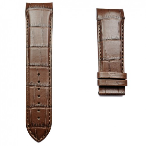 Brown Calf Leather Strap for Tissot Couturier T0356171603100 T610027774