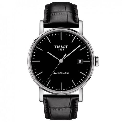 Tissot Everytime Swissmatic Watch T1094071605100 Black dial