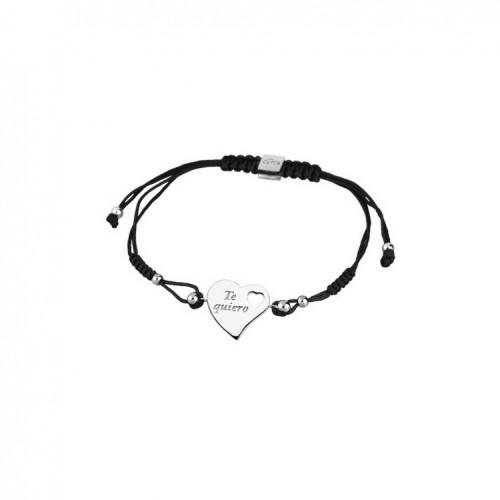 "Lotus Silver Heart ""Te Quiero"" bracelet LP1560-2/1 sterling silver"