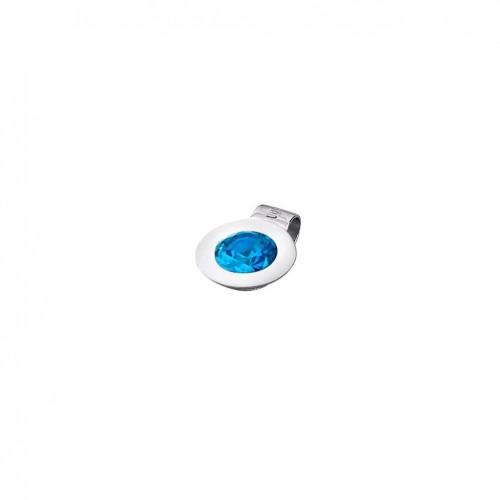 Lotus Silver Together pendant LP1703-1/5 silver aquamarine zirconia
