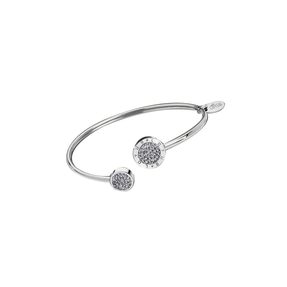 6bff671c236a Pulsera Mujer Lotus Style LS1849-2 1 acero y circonitas transparentes