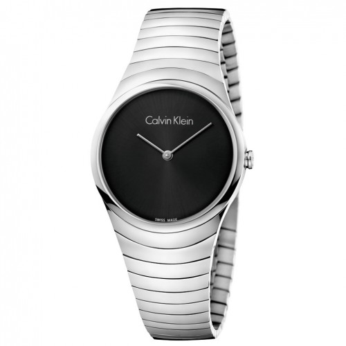 Calvin Klein Women Whirl watch K8A23141 steel black dial