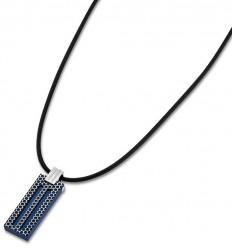 Lotus Style Men Pendant LS1797-1/2 blue stainless steel