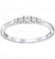 Swarovski Frisson ring with transparent stones 5251689 5237734