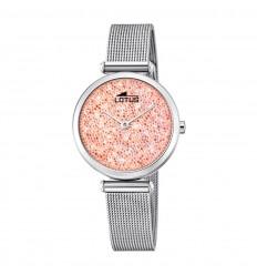 0220f2dd7af0 Reloj Lotus Bliss mujer 18564 4 esfera rosa cristales Swarovski