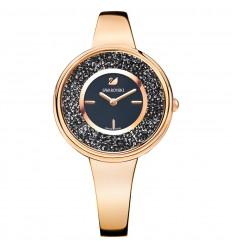 Crystalline Pure Swarovski watch 5295334 Black dial Rose gold plating