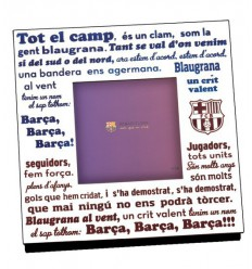 Photo frames FCB anthem Barca 375005