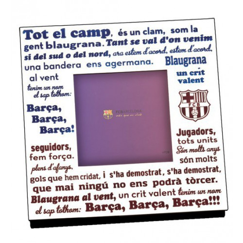 Photo frames FCB anthem Barca 375005