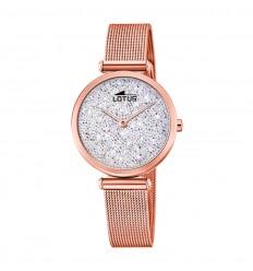 b823bdd1ab5b Reloj Lotus Bliss 18566 1 Esfera plateada cristales Swarovski Oro rosa