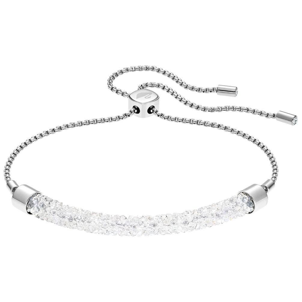 d36811d33d7 Pulsera Swarovski Long Beach 5404441 cristales blancos acero inoxidable