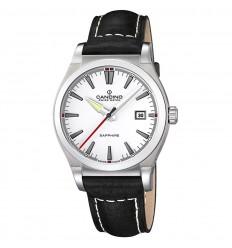 Candino Gents Sport Elegance watch C4439 1 Steel White dial ... e9e58671ce2