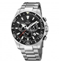 Jaguar Acamar J861/3 Chronograph 200 m submersible black dial and bezel