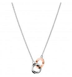 Calvin Klein Beauty Necklace KJ4NPN200100 steel bicolor rings
