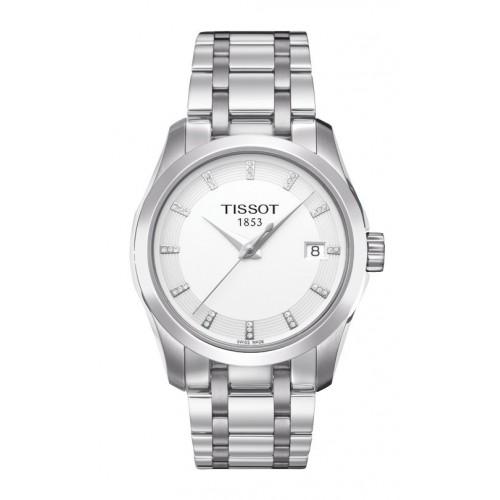 Tissot Couturier woman diamonds watch T0352101101600