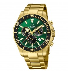 Jaguar Acamar Executive watch J864/1 Golden Green dial