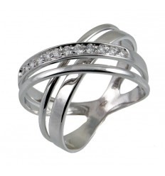 Ring white gold and diamonds A869-404-: 01