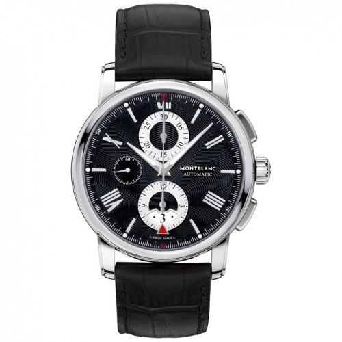 Montblanc Watch 4810 Chronograph Automatic 115123 Black dial