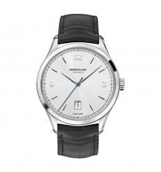 4d59dcafc34 Montblanc Heritage Chronométrie Automatic watch 112533 Silver dial ...