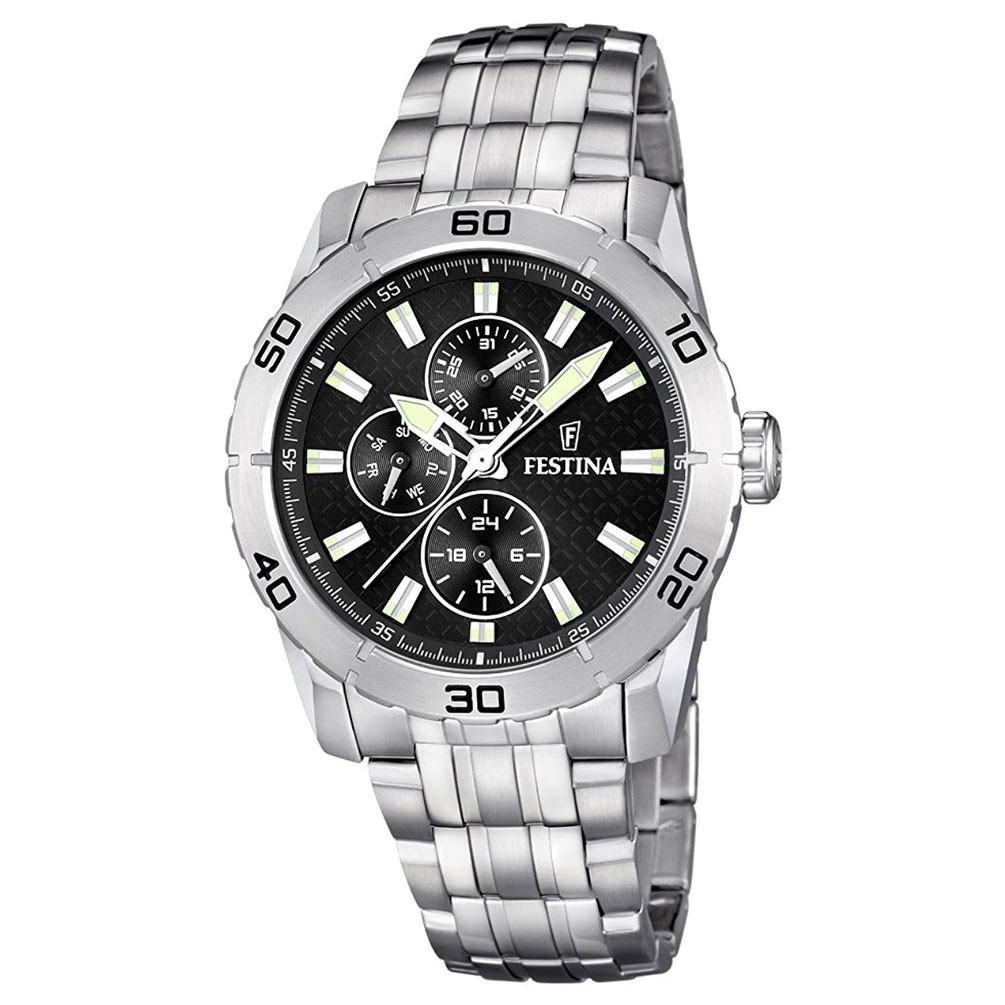 e74a0bc93fe7 Reloj Festina Hombre Multifunción F16606 4 acero inoxidable 44 mm