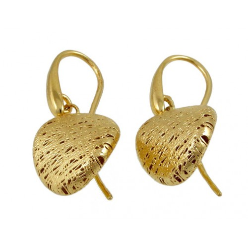 Long earrings in yellow gold A22 - 6318:00