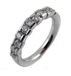Alliance white gold and diamonds A5166