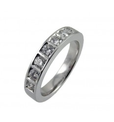 Alliance white gold and diamonds A4184