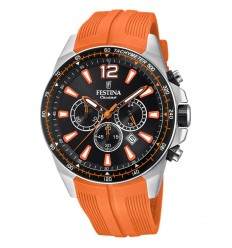 8ff25dce9 Festina Chrono Watch F20376/5 The Originals Orange rubber strap